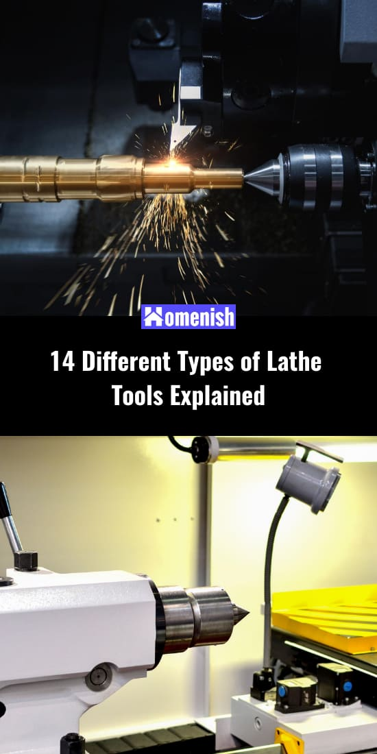 14 Different Types of Lathe Tools Explained