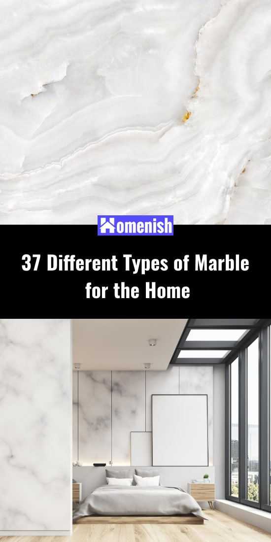 37 Different Types of Marble for the Home