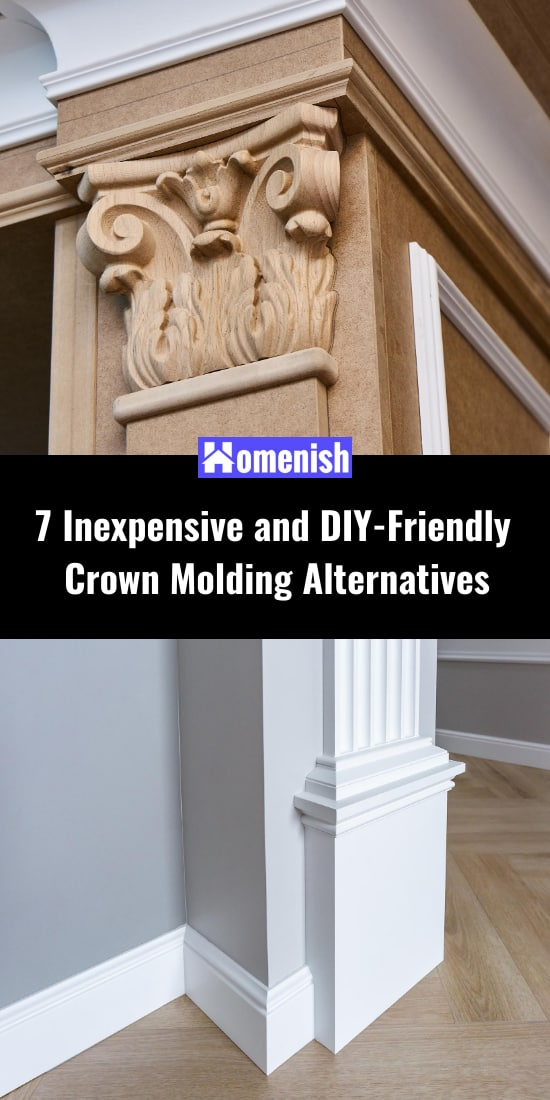 7 Inexpensive and DIY-Friendly Crown Molding Alternatives