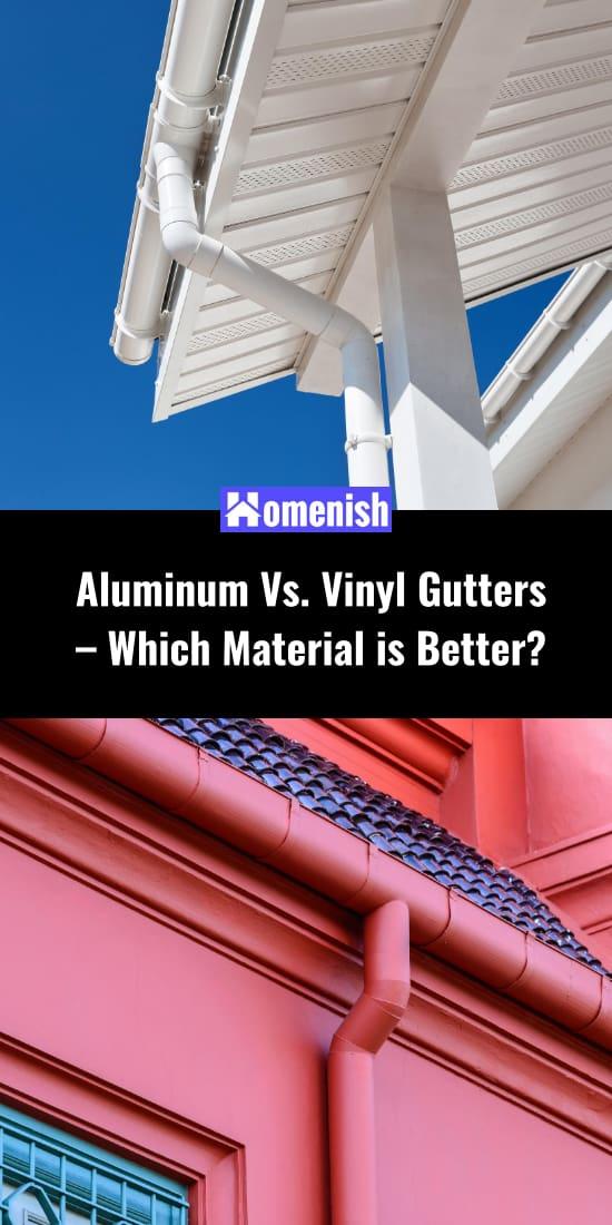 Aluminum Vs. Vinyl Gutters – Which Material is Better