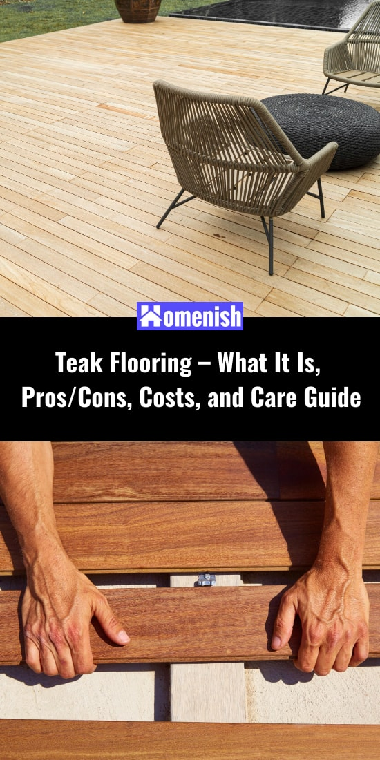 Teak Flooring – What It Is, ProsCons, Costs, and Care Guide