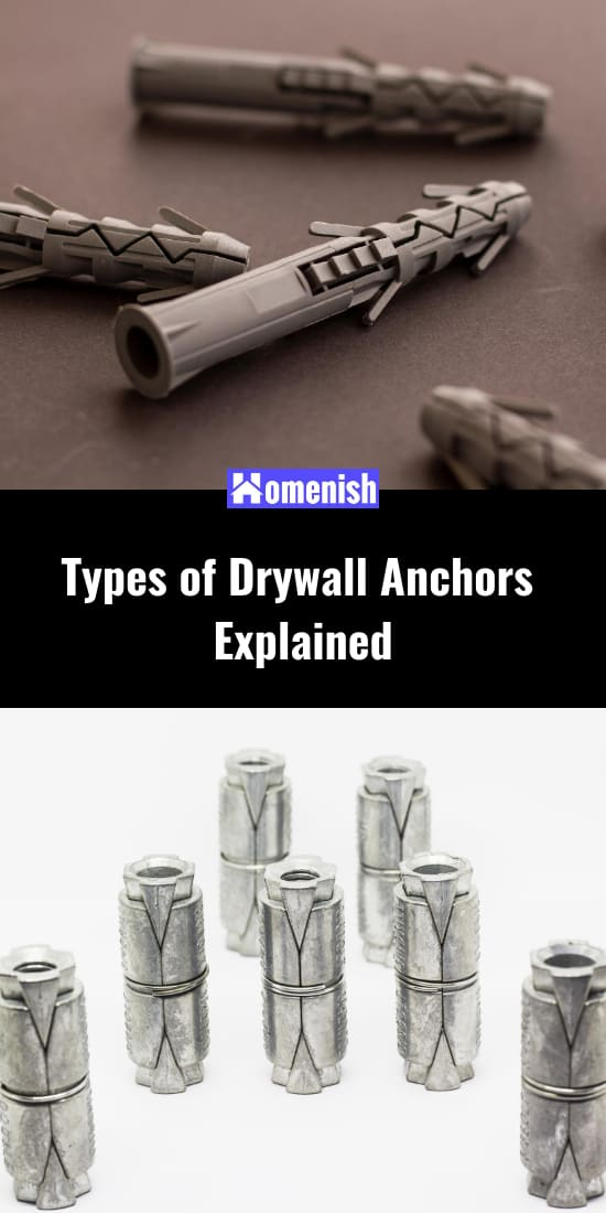 Types of Drywall Anchors Explained