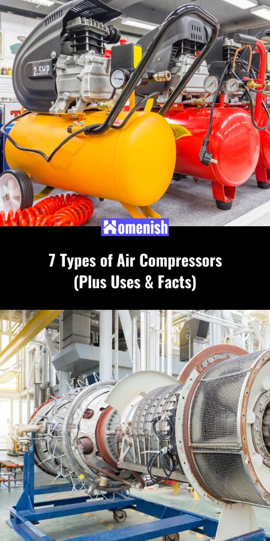 7 Types of Air Compressors