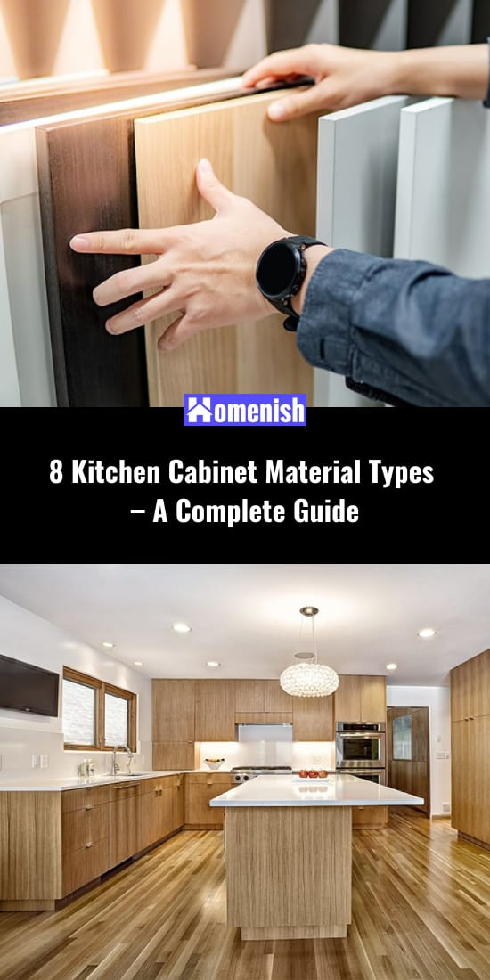 8 Kitchen Cabinet Material Types - A Complete Guide