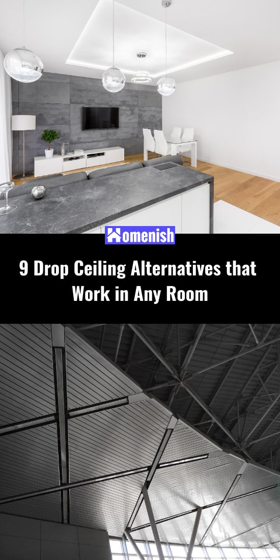 9 Drop Ceiling Alternatives that Work in Any Room
