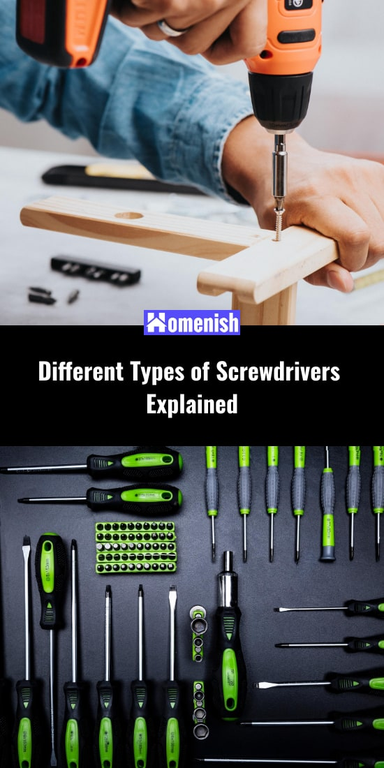 Different Types of Screwdrivers Explained