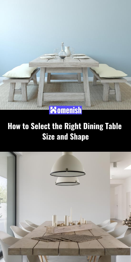 How to Select the Right Dining Table Size and Shape