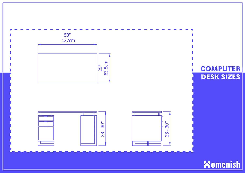 Computer Desk Dimensions