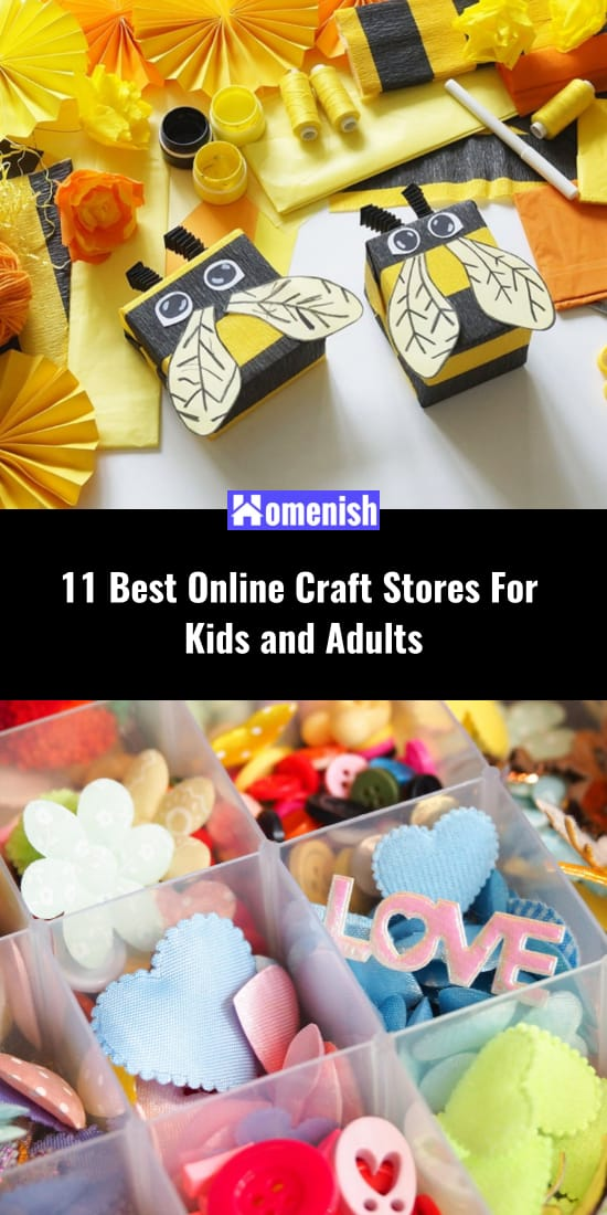 11 Best Online Craft Stores For Kids and Adults
