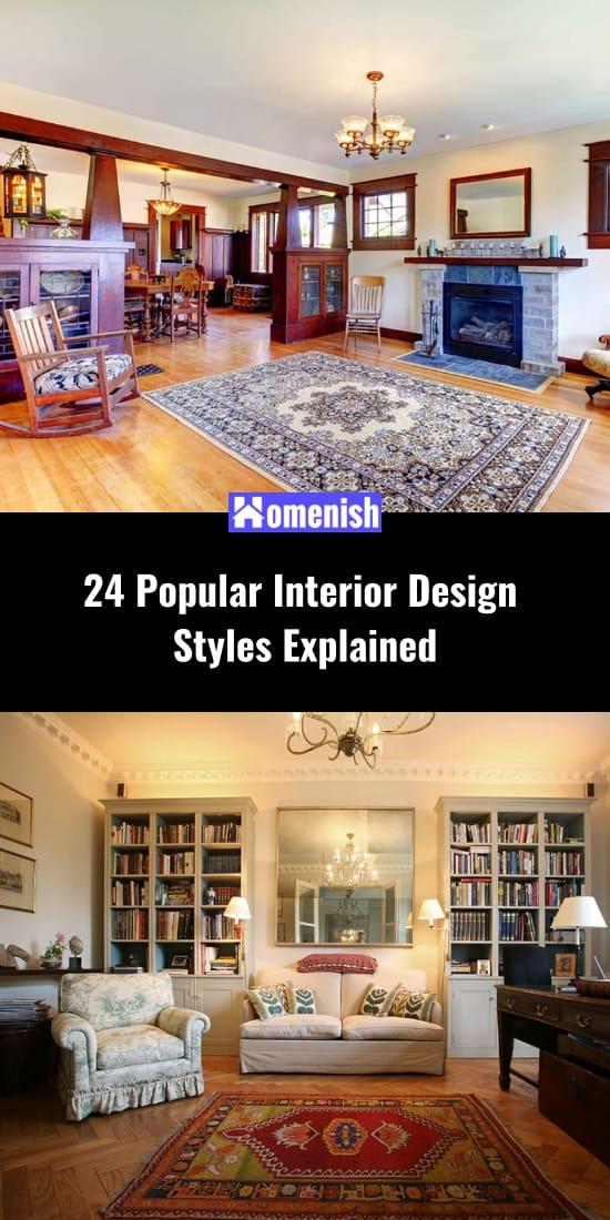 24 Popular Interior Design Styles Explained