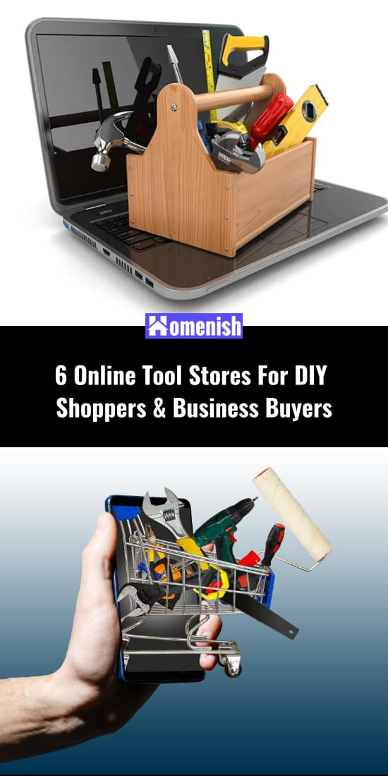 6 Online Tool Stores For DIY Shoppers & Business Buyers