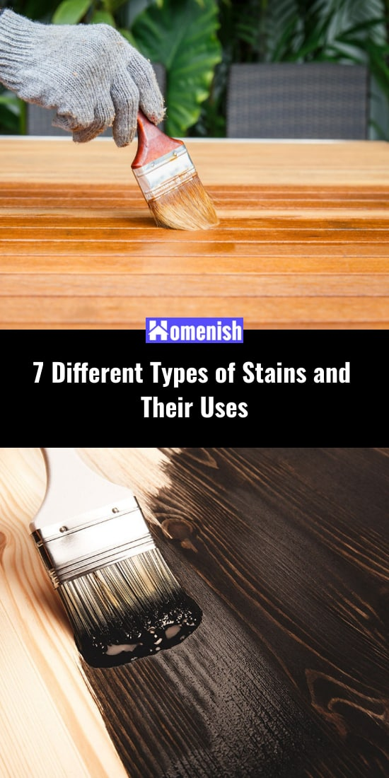 7 Different Types of Stains and Their Uses