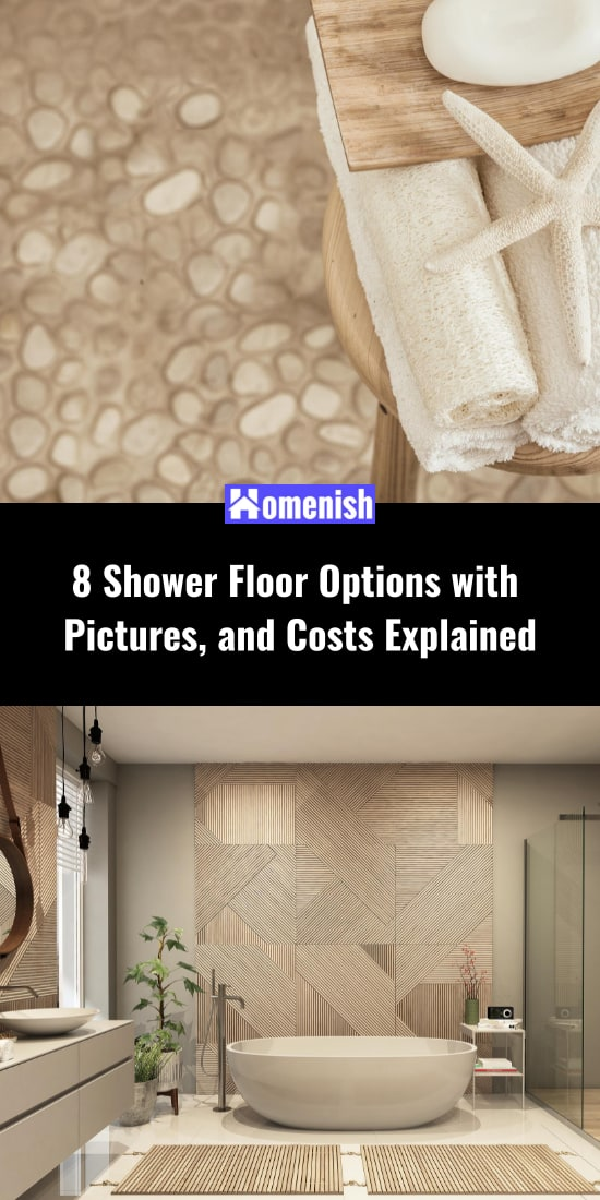8 Shower Floor Options with Pictures, and Costs Explained