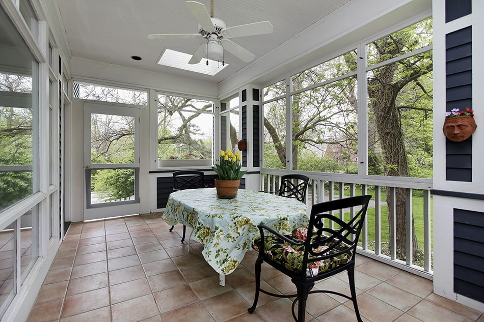 Cozy Open Air Dining Area
