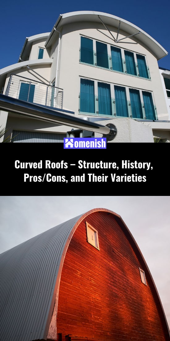 Curved Roofs - Structure, History, ProsCons, and Their Varieties