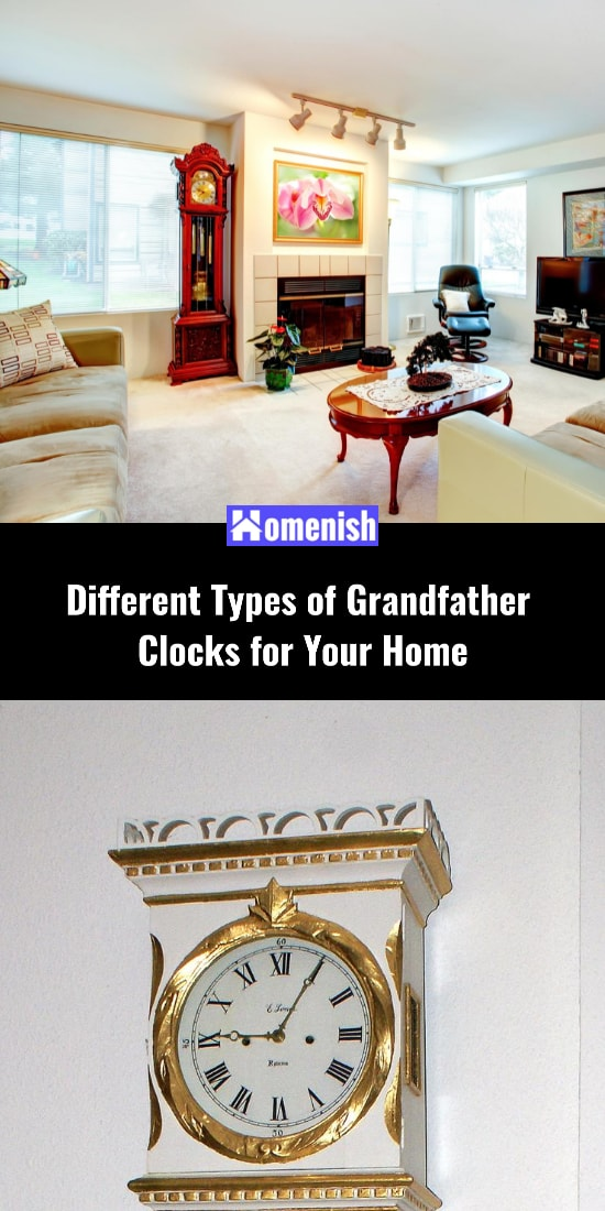 Different Types of Grandfather Clocks for Your Home