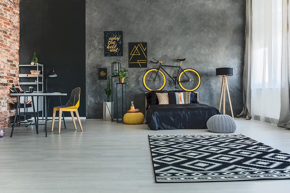 Hang Your Bike on the Wall as Art