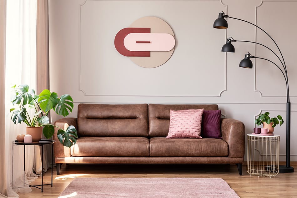 Highlight the Sofa with Wall Decor
