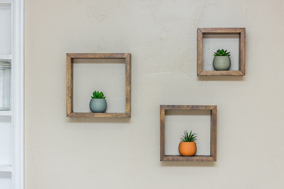 Keep it Simple with Floating Shelves