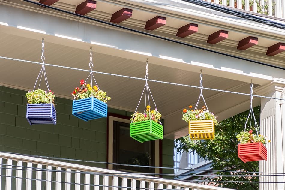 Multi-Colored Baskets