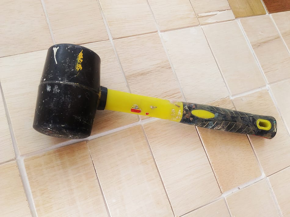 Rubber Mallet and Hammer