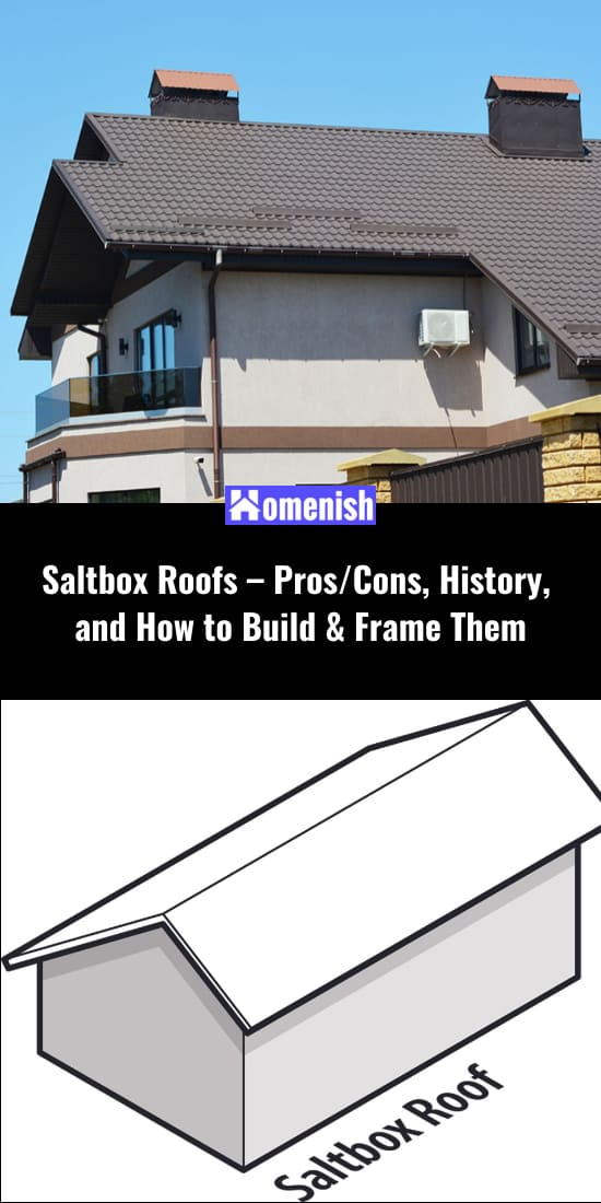 Saltbox Roofs - ProsCons, History, and How to Build & Frame Them
