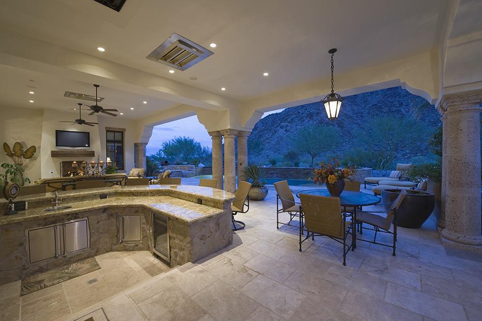 Sitting Area by Sunken Kitchen