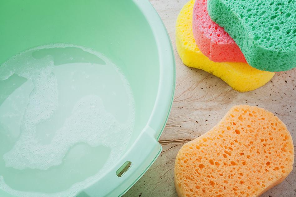 Sponge and Bucket