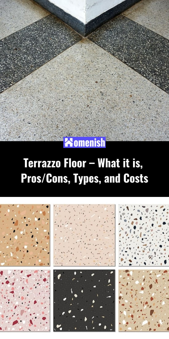 Terrazzo Floor - What it is, Pros/Cons, Types, and Costs
