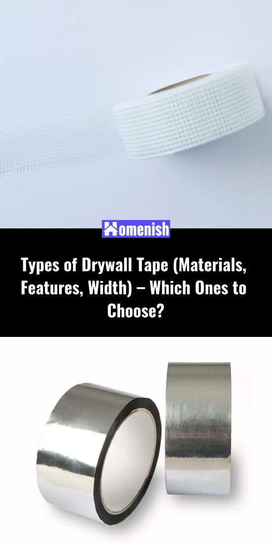 Types of Drywall Tape