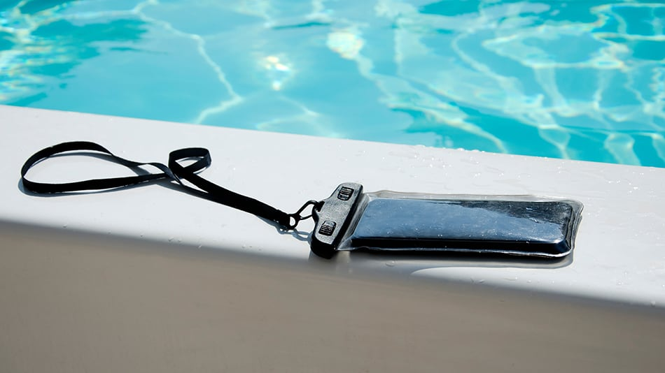 Waterproof phone skin