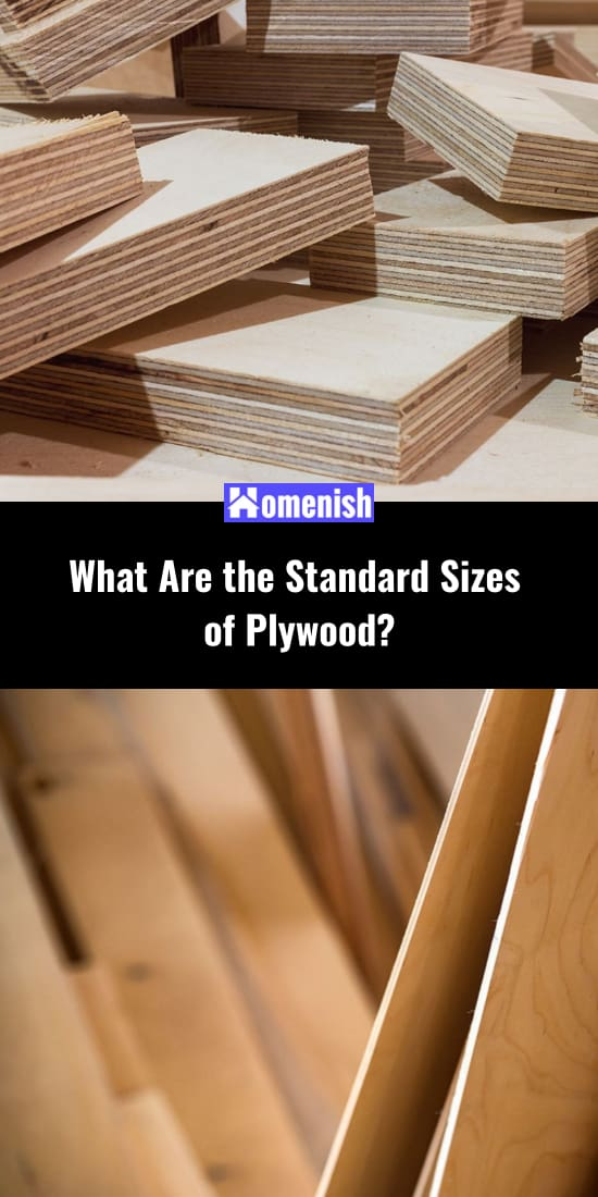 What Are the Standard Sizes of Plywood