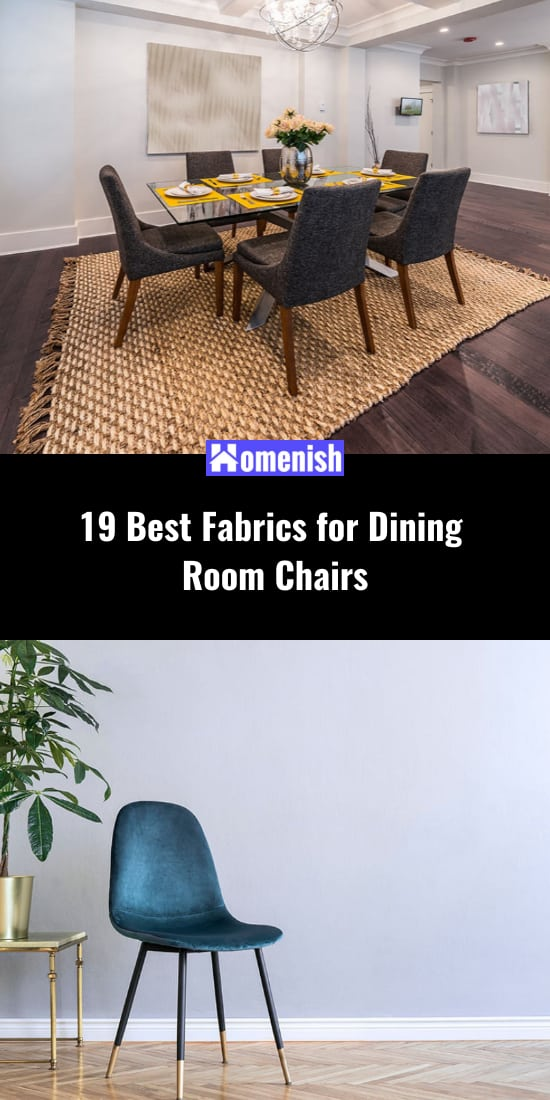 19 Best Fabrics for Dining Room Chairs