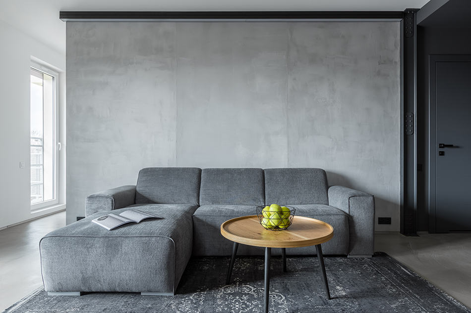 Best Carpet Color for Gray Walls in Living Room