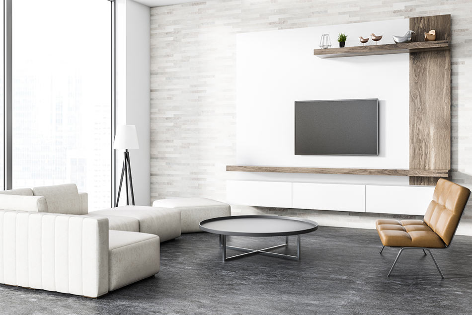Coffee Tables in Front of the TV