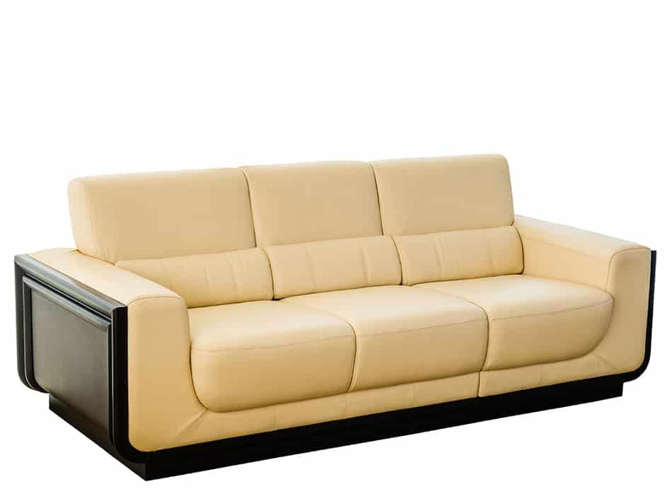 Cream Leather Sofa as a White Alternative