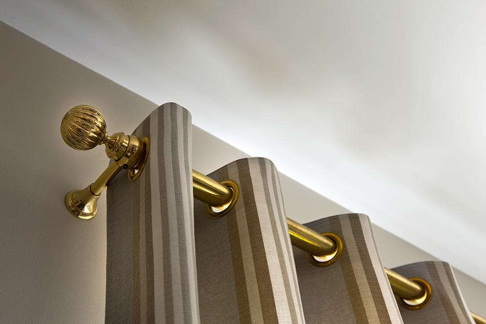 Curtain Rod Lengths Explained Diagram, How To Pick Curtain Rod Size