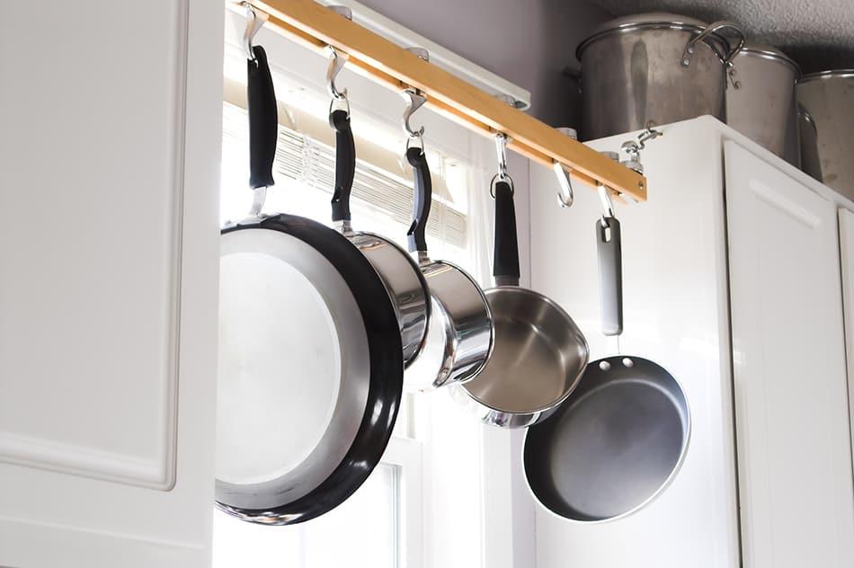 Hang Pots and Pans