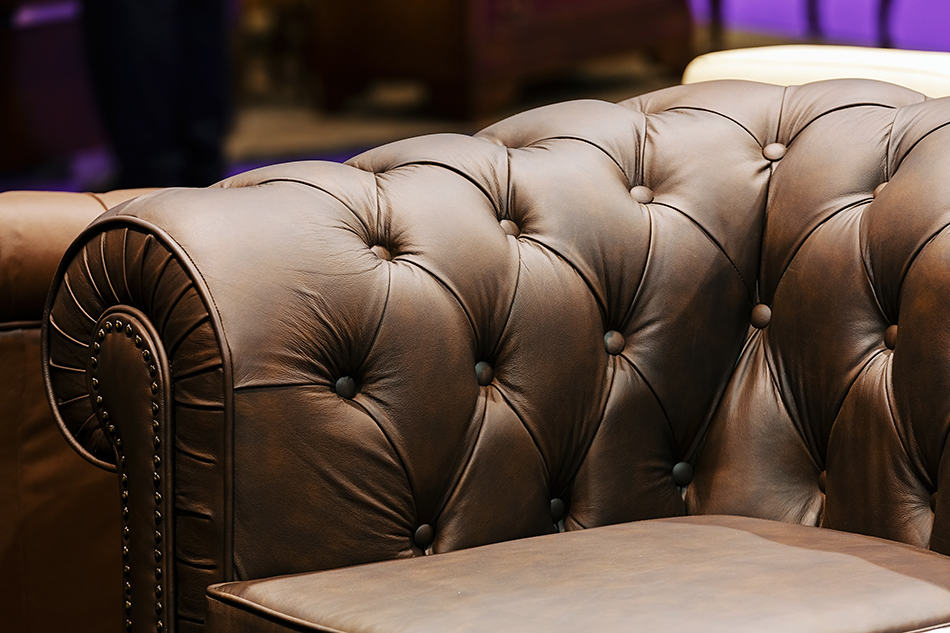 Light or Chocolate Brown Leather Sofa for a Neutral Design