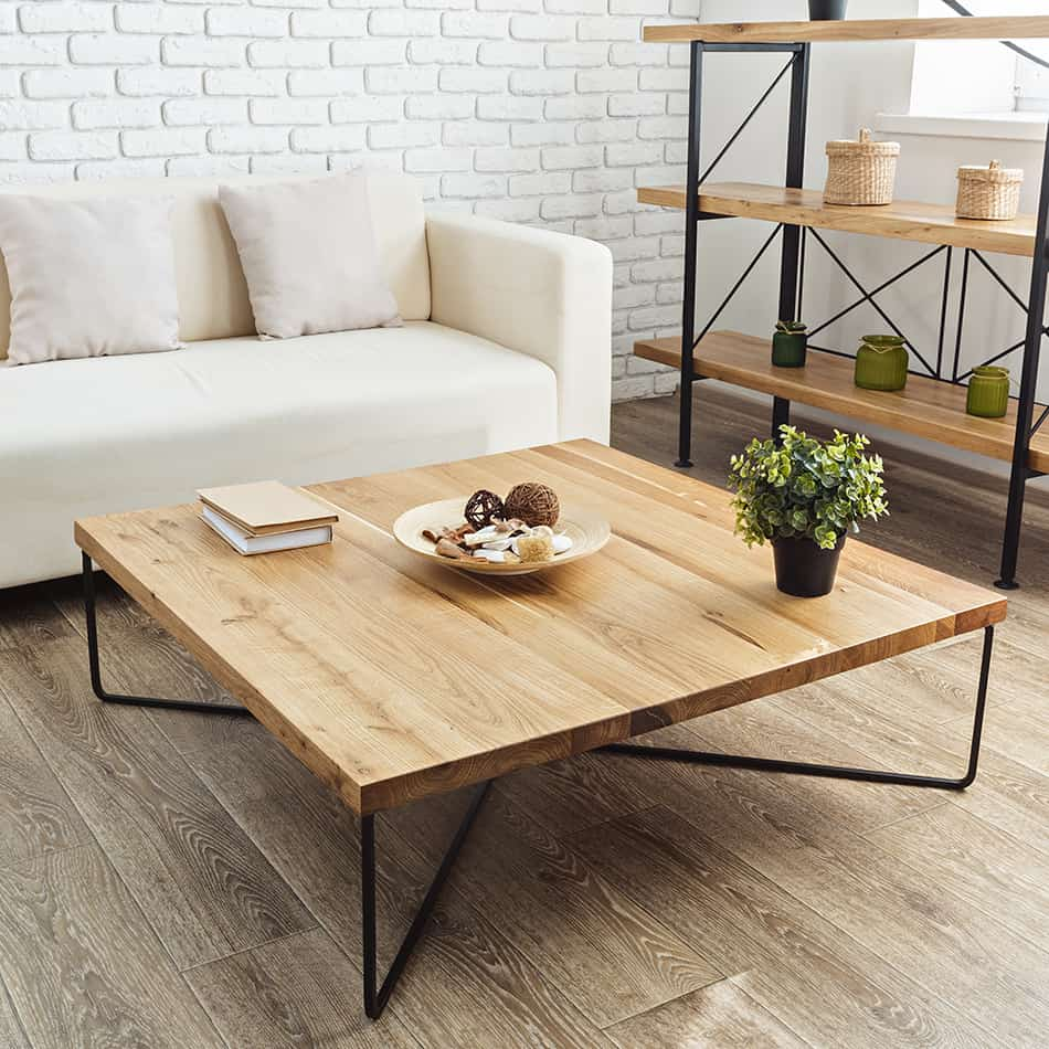 Minimalist Industrial Coffee Table