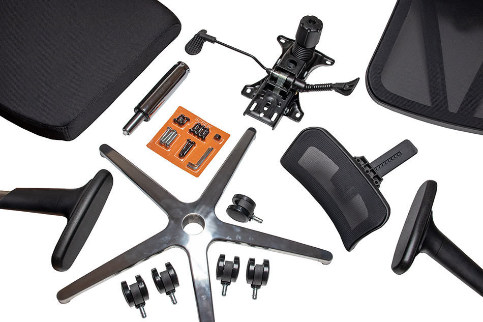Parts of an Office Chair