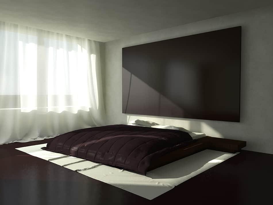 Platform King-Size Bed