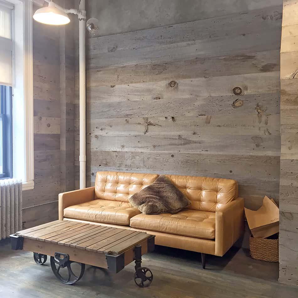 Rustic Cart Coffee Table