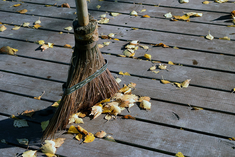 Sweep the Porch Regularly