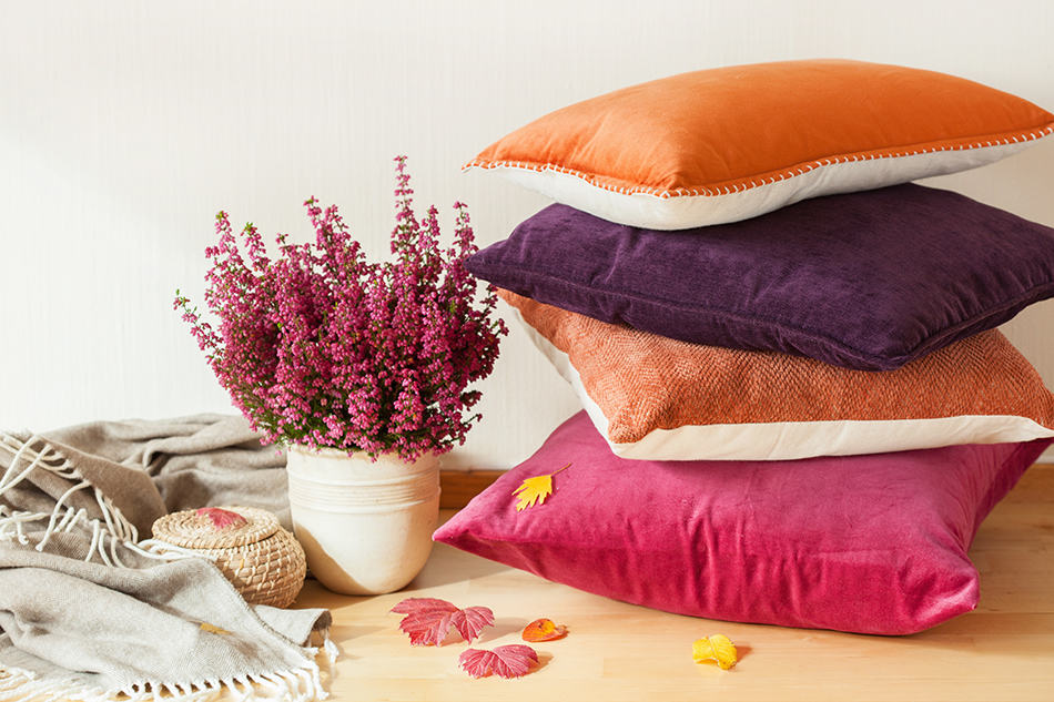 Types of Cushions