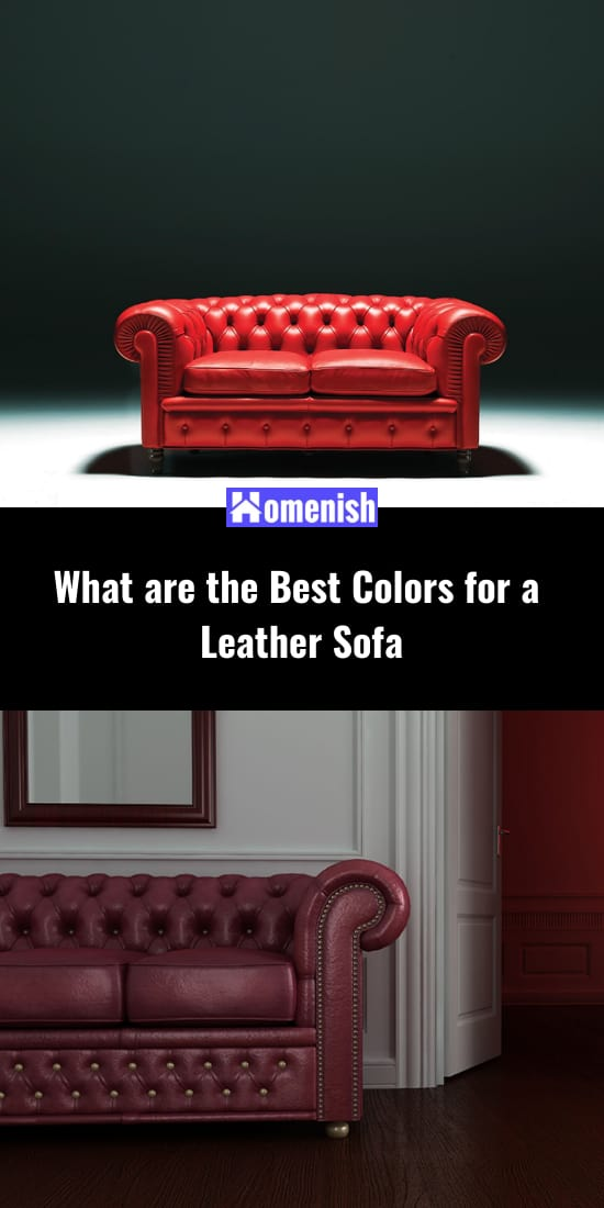 What are the Best Colors for a Leather Sofa