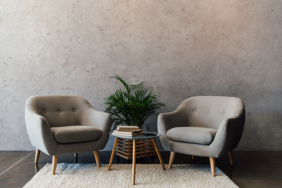 White Carpet for Light Gray Walls