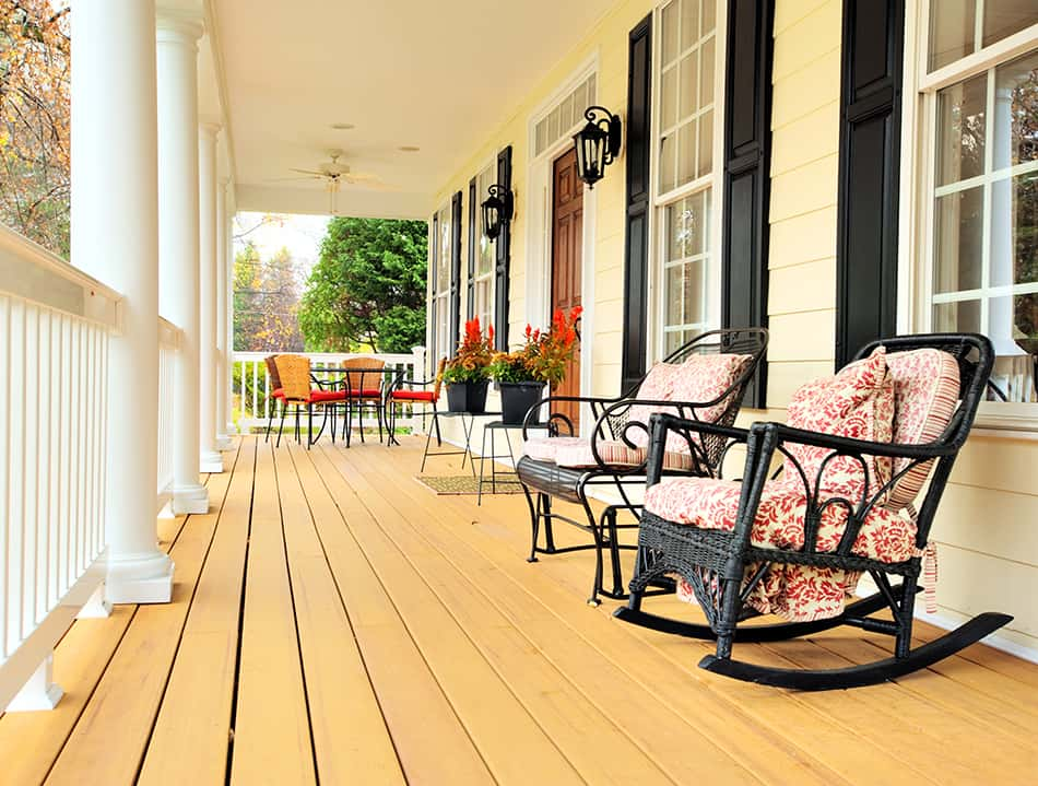 Wood Flooring Porch Options