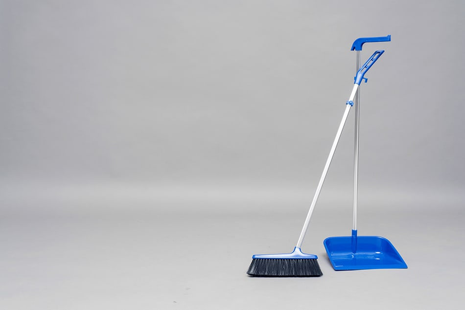 Grab a Dustpan and Brush