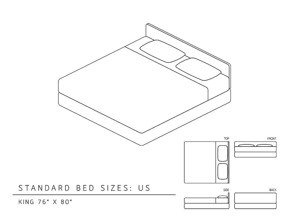 Dimensions of a King-Size Bed